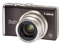 Canon Powershot SX200 IS Point and Shoot Camera