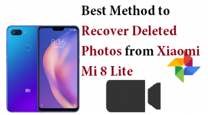 Recover Deleted Photos from Xiaomi Mi 8 Lite